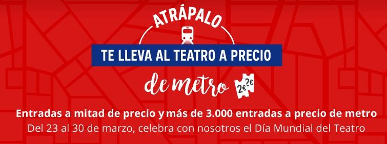 DÍA MUNDIAL DEL TEATRO ATRÁPALO