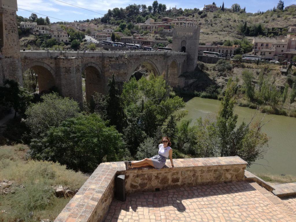 Toledo por la puerta de San Martín