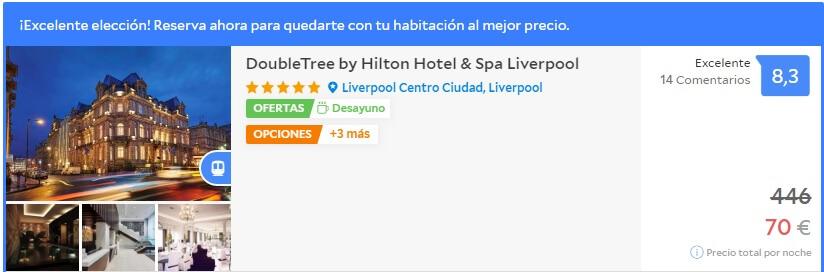 HOTEL BARATO EN LIVERPOOL