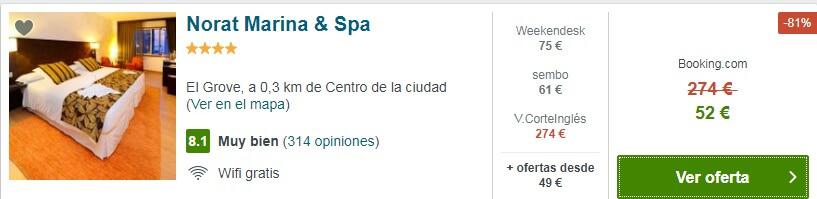 HOTEL BARATO SPA GALICIA