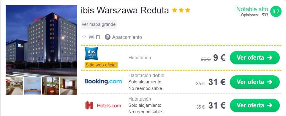 hotel super barato en Polonia en verano