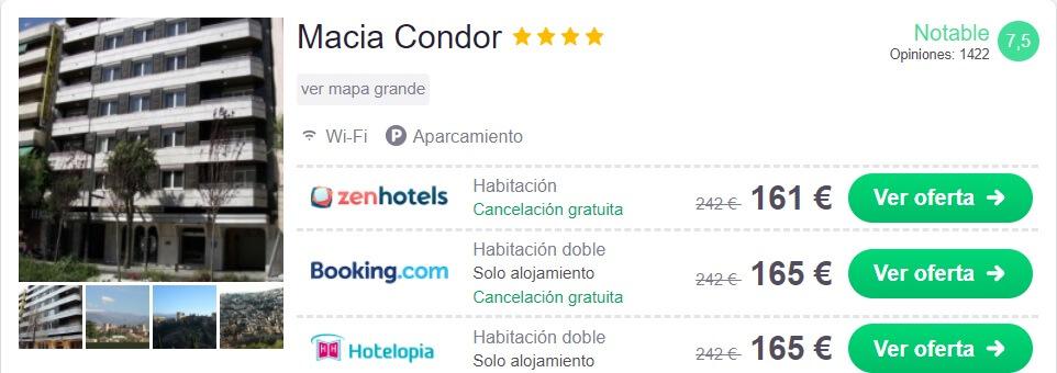 HOTEL BARATO EN GRANADA