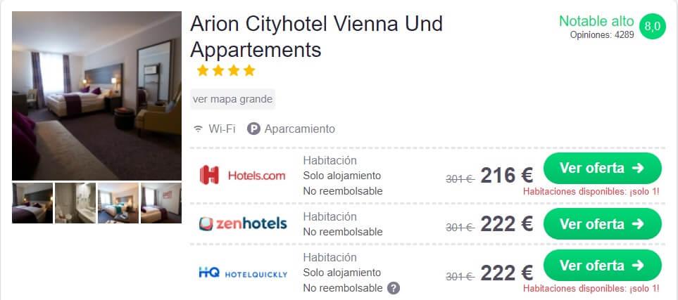 hotel barato en Viena
