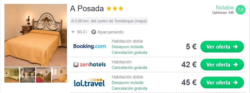 chollo hotel Toledo