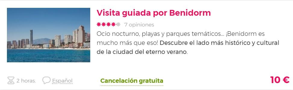 tour por Benidorm