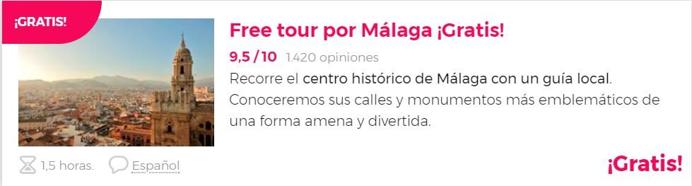 free tour Málaga