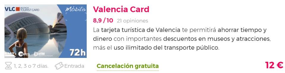 VALENCIA CARD