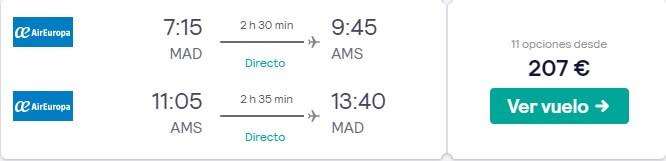 vuelo barato a amsterdam