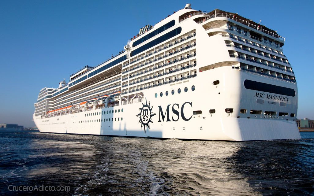MSC Magnífica suspende temporalmente su actividad, MSC Grandiosa continua como hasta ahora